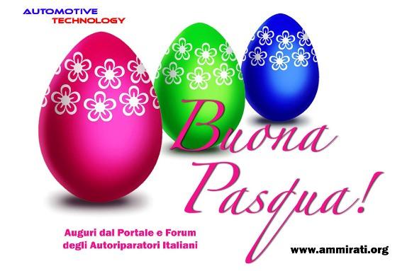Buona Pasqua dal Portale Italiano dell'Autoriparatore