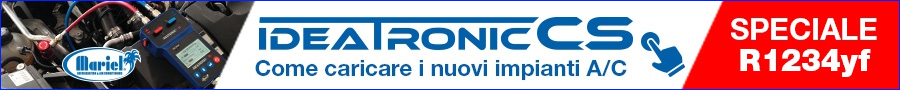 Mariel Ideatronic ricarica impianti aria condizionata nuovo gas refrigerante clima r1234yf