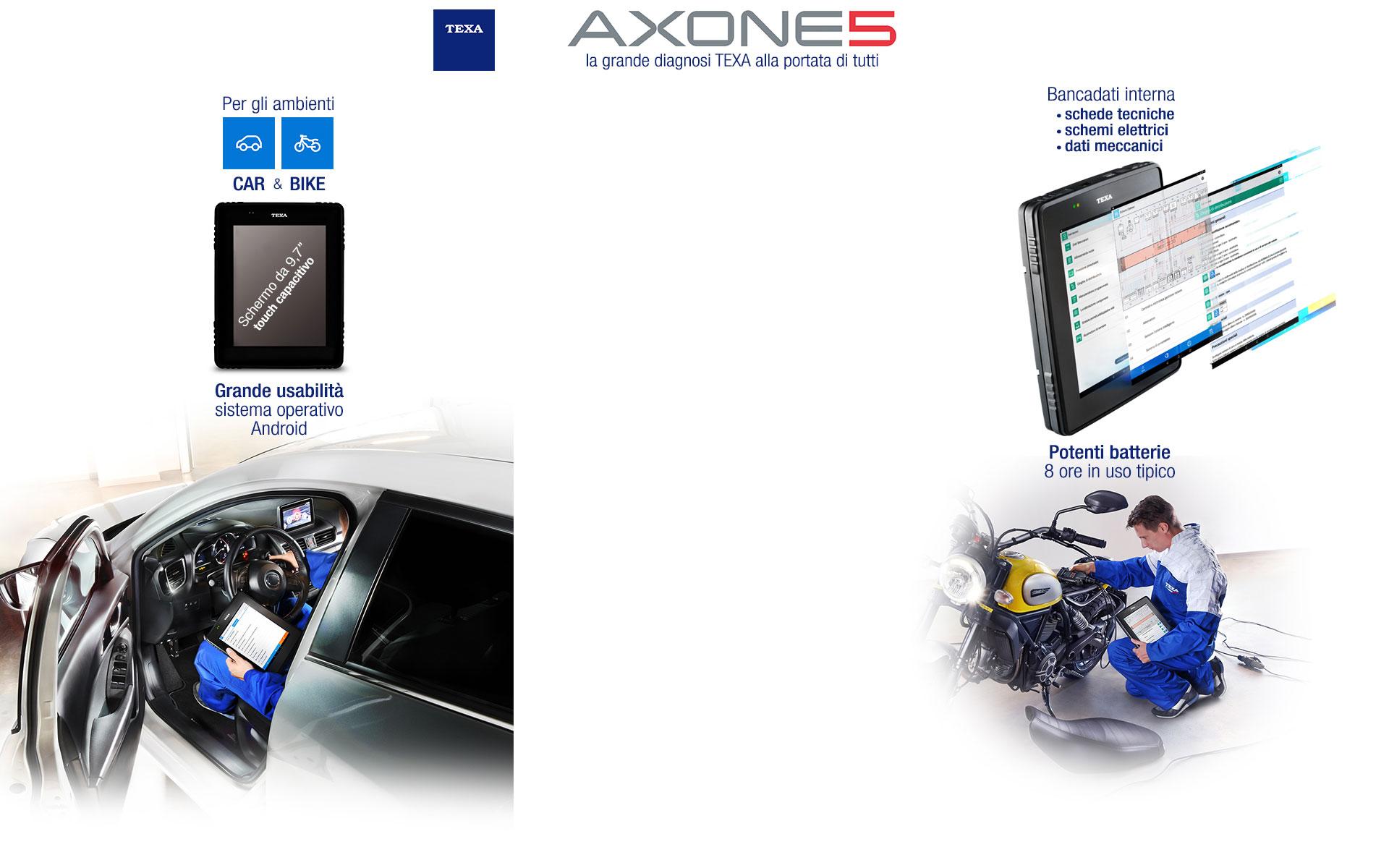 Nuovo Strumento Diagnosi TEXA AXONE5